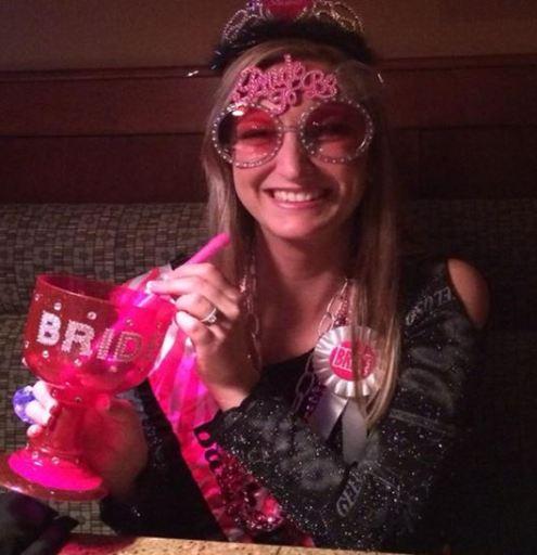 Renee in her bachelorette gear!