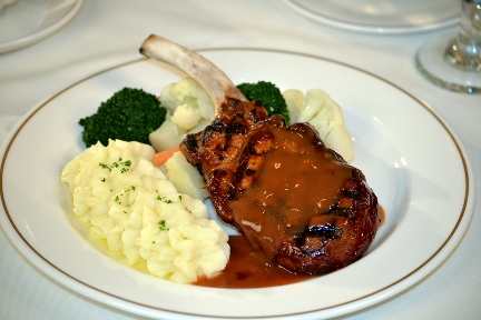 Smokey Mountain Pork Chop