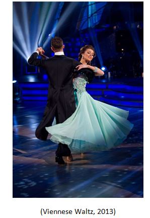 Viennese Waltz. (2013). Retrieved November 23, 2014, from DokoLive-Ballroom and Latin Dance Events: http://dokolive.com/dancestyle/vwaltz.html