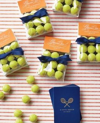 Photo Courtesy of Martha Stewart Weddings http://www.marthastewartweddings.com/360764/tennis-themed-st-louis-wedding/@center/272446/real-weddings#358232