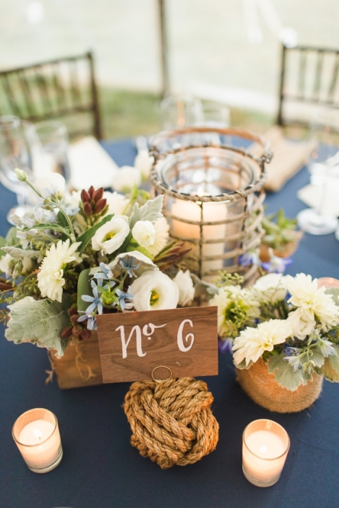 Photo Source: http://www.elizabethannedesigns.com/blog/2015/01/22/nautical-inspired-seaside-wedding/nautical-table-numbers-2/ Photo Credit: http://www.ashley-caroline.com/